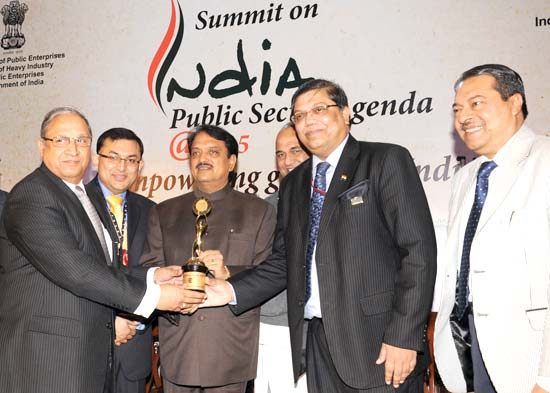 PSU Excellence Award for NTPC