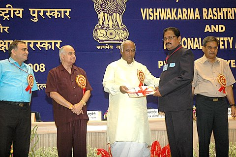 Vishwakarma Award for 12 NTPC Employees