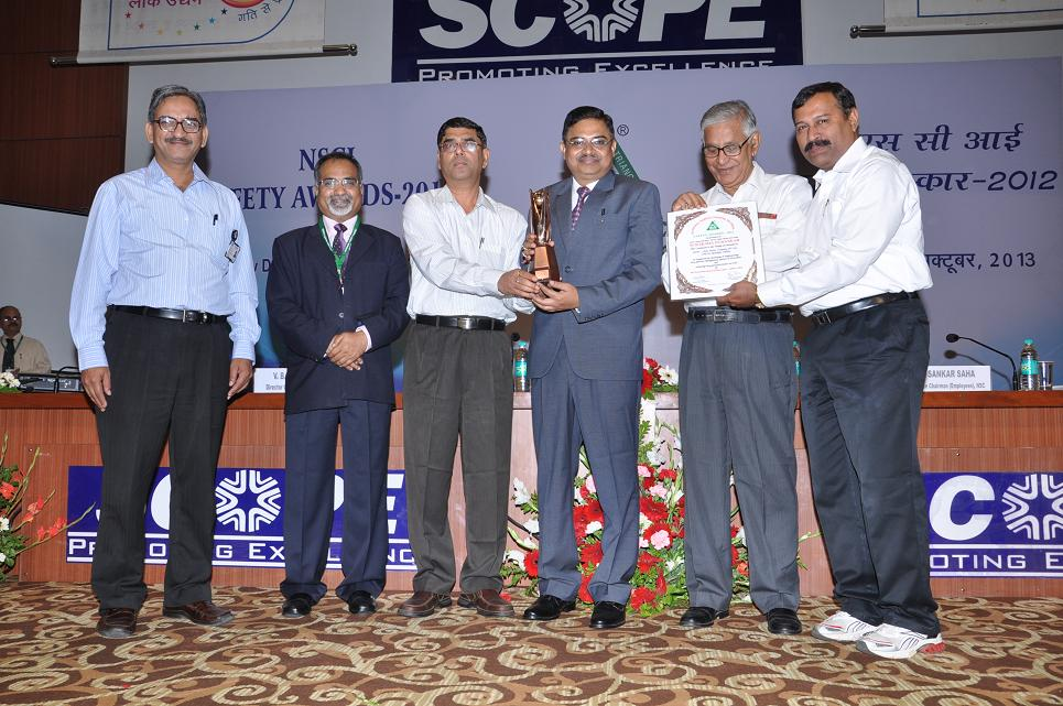 NSPCL wins prestigious National level