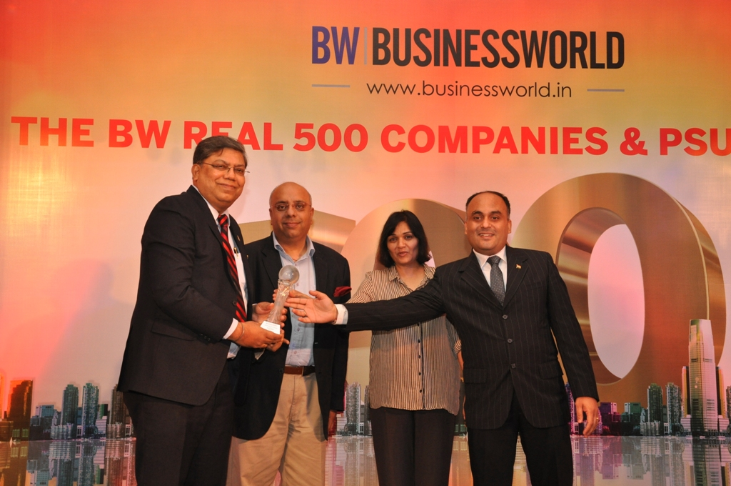 NTPC Felicitated for Performance by Business World