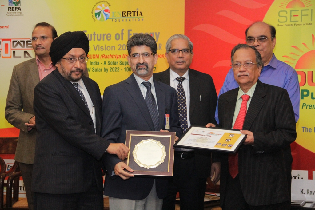 NTPC is Sourya Urja PSE of the Year