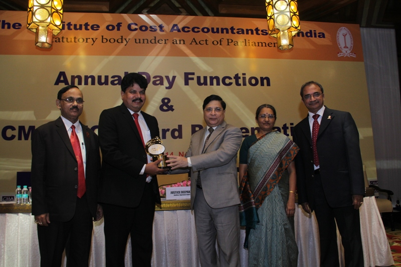 CFO Award for NTPC Director Finance