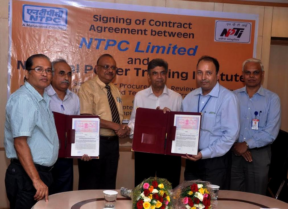 Skill Building Efforts by NTPC