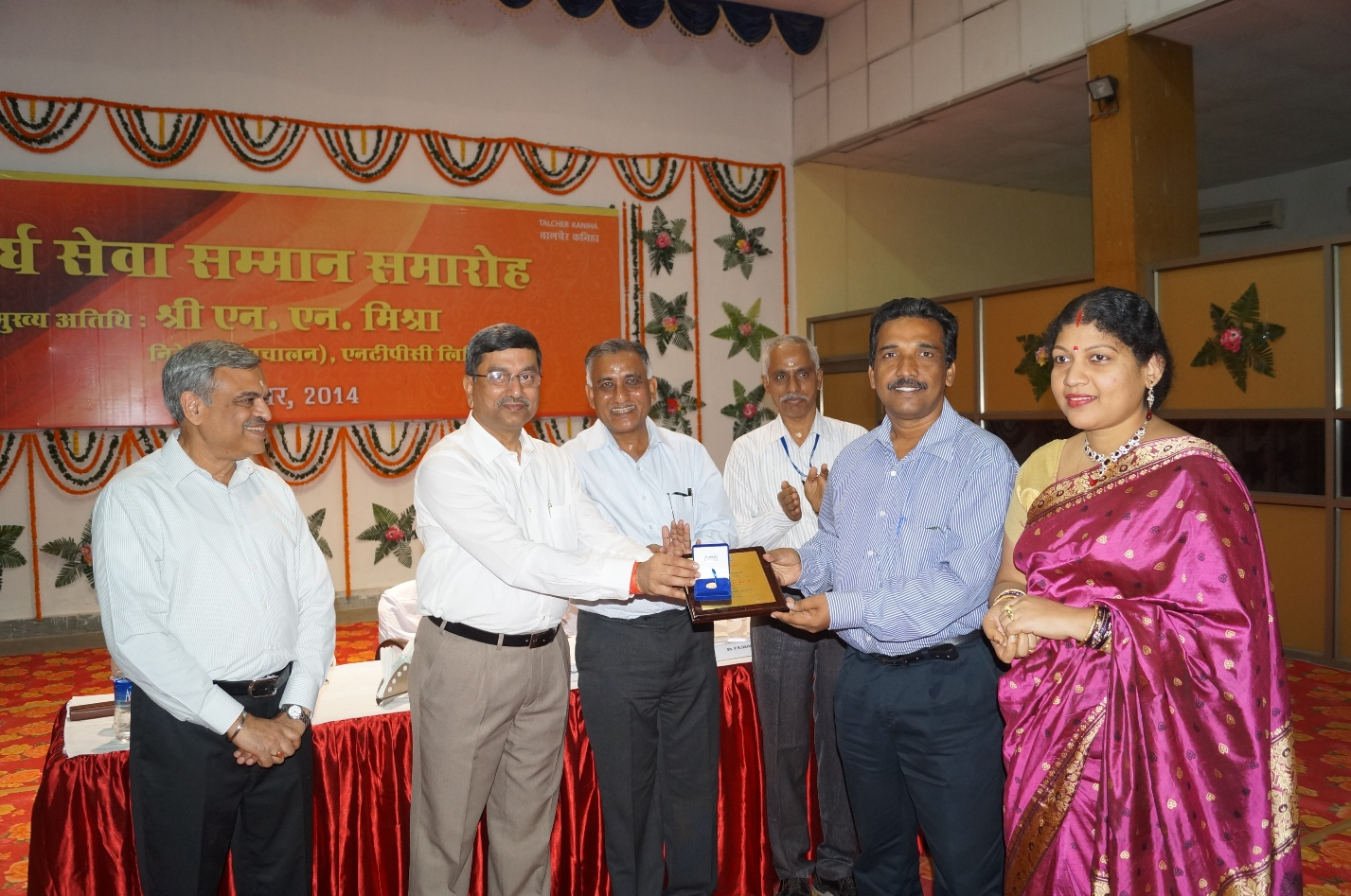 Director (Operations) awarded NTPC Employees with Long service Awards