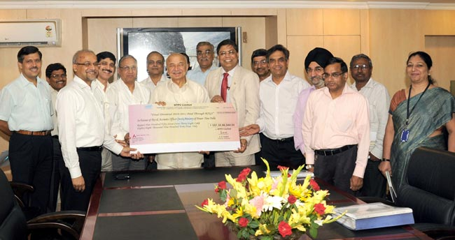 NTPC pays Total Dividend