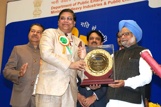 SCOPE Excellence Award to Shri Arup Roy Choudhury, CMD, NTPC