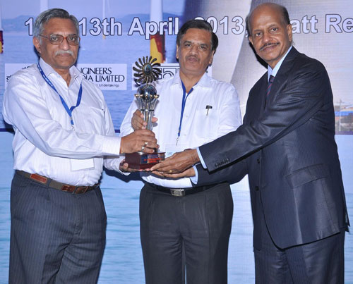 Life Time Achievement Award to GM NTPC