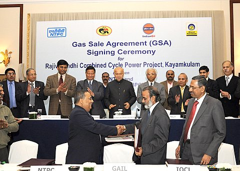 NTPC signs GSAs with GAIL, IOCL, BPCL