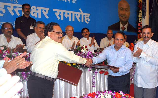 Three major MOUs signed by NTPC and Chhattisgarh govt.